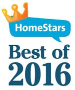 True North Eavestroughing HomeStars Best of 2016