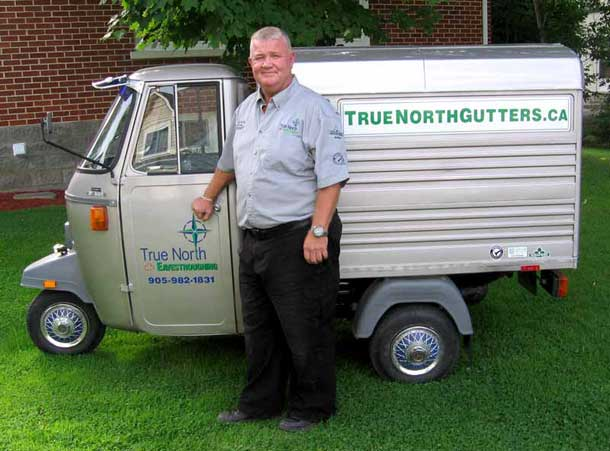 Our New Quot Gutter Truck Quot True North Eavestroughing