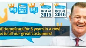 True North Eavestroughing wins HomeStars Best of Award… Again!