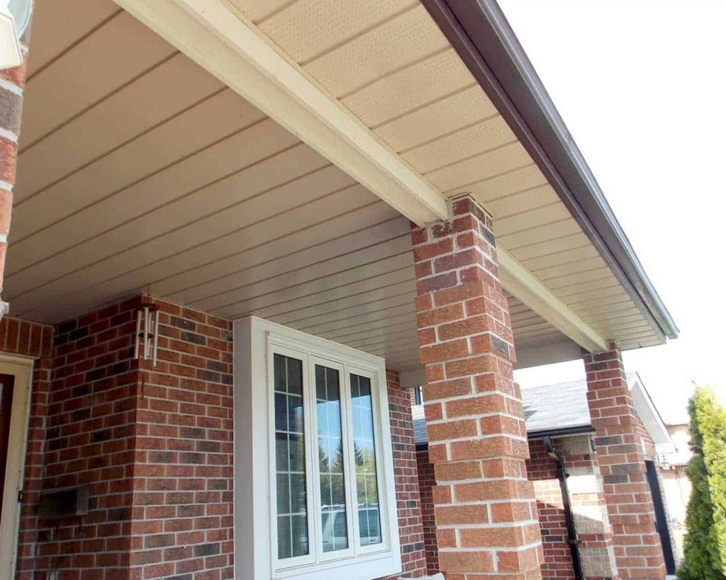Replacing Soffit Fascia And Eavestroughing In Pickering