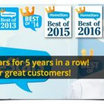 True North Eavestroughing wins HomeStars Best of Award… Again!