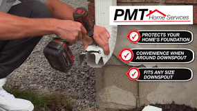 Downspout Disconnection Issues? – PMT Home Services is our preferred supplier
