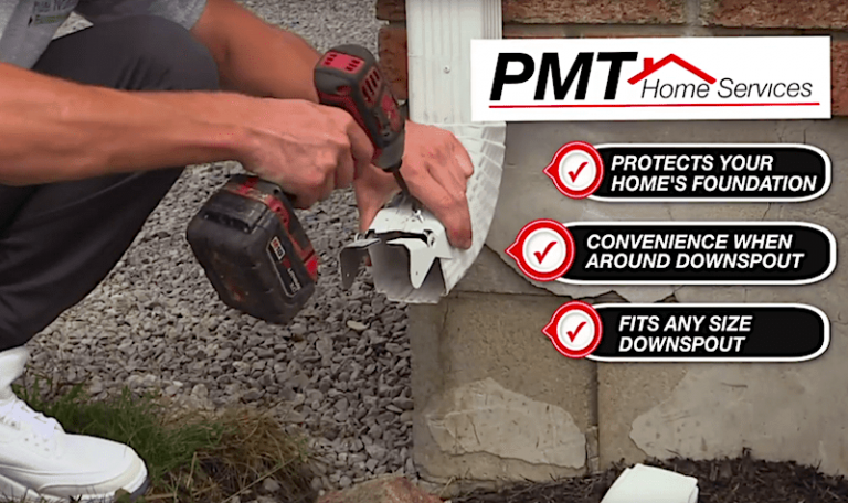 Dowsnspout Disconnection PMT Home Services
